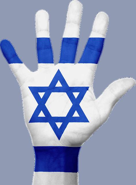 דגלי ישראל בסיטונאות כף יד