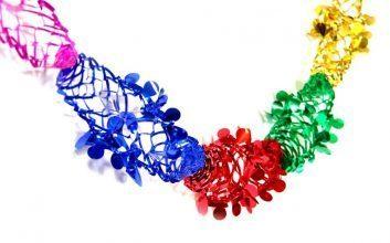 שרשרת צבעונית